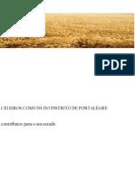 CELEIROS COMUNS DO DISTRITO DE PORTALEGRE