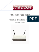 Manual Sitecom 300N Wireless Router