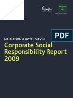 Corporate Social Responsibility Report 2009