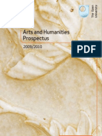 OU Arts+Humanities Prospectus