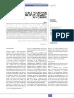 Reversible Posterior Leukoencephalopathy Syndrome
