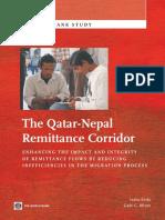 The Qatar-Nepal Remittance Corridor