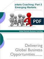 Opportunity Spotting in Emerging Markets
