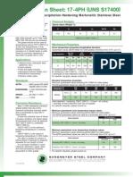 17 4PH Spec Sheet