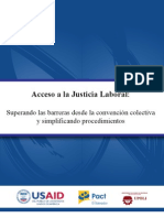 Acceso a la Justicia Laboral