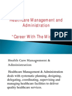 Mediminds Healthcare Management Programs Presentation