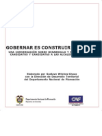 Cartilla Guia Para Elaborar Programa de Gobierno Con Vision de Futuro -DNP