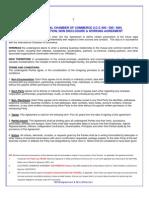 international non disclosure agreement
