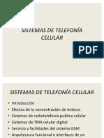 SISTEMAS DE TELEFONÍA CELULAR