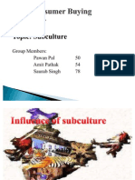 Subcultures AMITnew