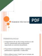 TERMOS TECNICOS