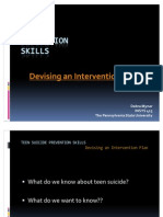 Teaching Teen Suicide Prevention Skills