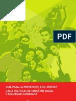 guía para prevención con jóvenes