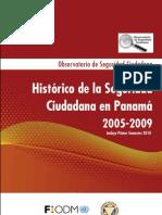 Historico de La Seguridad Ciudadana