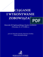 Zaradkiewicz - Konstrukcja Umowy o Ustanowienie i Przeniesienie Prawa [Wersja OCR]