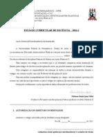 Documento de presença no estágio de docência - 2011.2