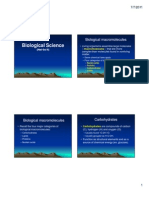 Lecture 3 - Biological Macromolecules.handout