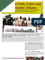 Southern Faith, Labor andCommunity Alliance