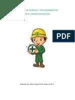 Manual de Normas y Procedimientos. EPSI Granitos Bolívar