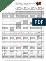 IPF Monsoon Calendar