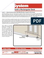 Howto Rectangular Deck
