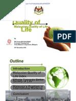 Malaysian Quality of Life Presentation (2004)
