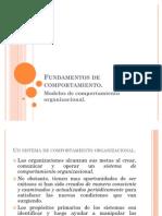Fundamentos de Comportamiento.modelos