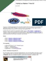 Instalar Apache+PHP+MySQL no Windows 7_Vista_XP » Pinceladas da Web - HTML5 Hard Coding and Bullet Proof CSS