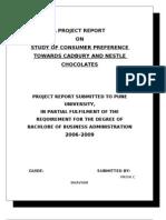 A Project Report Priya
