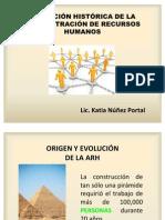 Evolución Histórica de la Administración de Recursos Humanos (Semana 1)