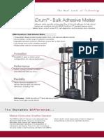 DM55 Bulk Adhesive Drum Unloader