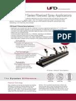UFD Equity Fiberized Spray Adhesive Applicator