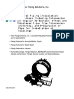 Installation Guidelines for Piping 22