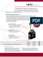 UFD Fiberized Spray Adhesive Applicators