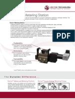 Vector Adhesive Metering Station