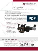 Vector Adhesive Slot Applicator