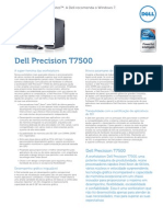 Dell Precision t7500 Spec Sheet Pt Br