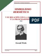 Oswald Wirth Hermetismo y Francmasoneria