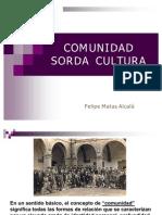 Comunidad Sorda i Cultura Ppt
