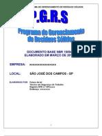 Modelo de PGRS - Programa de Gerenciamento de Resíduos Sólidos
