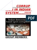 Corruption in Indian System