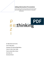 Prezi-Re-Thinking Information Presentation