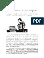 Los postgrados:la educación necesaria pero marginada