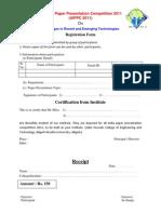 Registration Form f