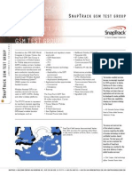 snaptrack gsm test group data sheet 11-00