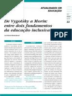 De Vygotsky a Morin entre dois fundamentos da educação inclusiva[1]