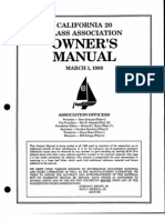 Cal 20 Owners Manual