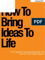 Bring Ideas to Life Jan2011