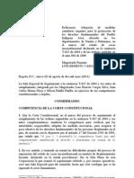 Corte Constitucional Colombiana AWA