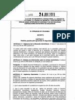 Ley 1453 Reforma Código Penal, Código de Procedimiento Penal..